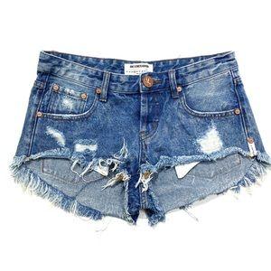 One Teaspoon Bonitas denim shorts 25
